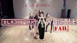 Video 【KY】BLACKPINK — WHISTLE(휘파람) DANCE COVER(Fail/Parody? ver.) download MP3, 3GP, MP4, WEBM, AVI, FLV November 2017