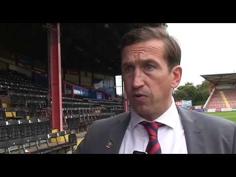 Justin Edinburgh Post Match Interview 21/09/13  Exeter City v Newport County