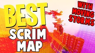 The BEST Fortnite Creative SCRIM MAP CODE | With MOVING STORM and ZONE WARS MAP CODES
