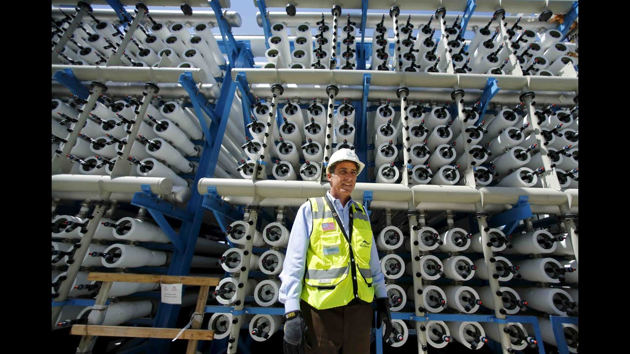 Is desalination the future of drought relief in California