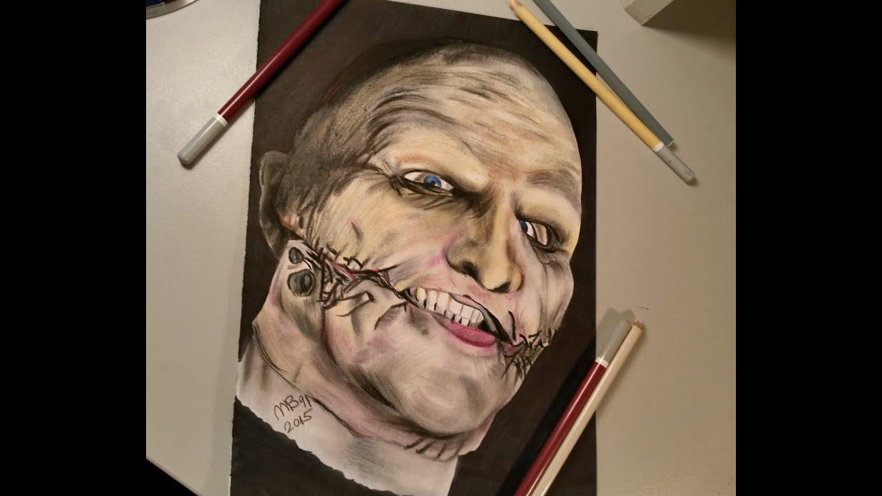 drawing corey taylor with mask slipknot mb91 drawing