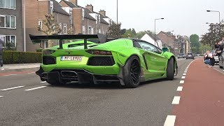 Supercars Accelerating LOUD! LibertyWalk Aventador, GTC4Lusso, Decat M2, X6M, M5 F90 & More!