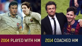 Top 30 Players Who Played With Their Managers
