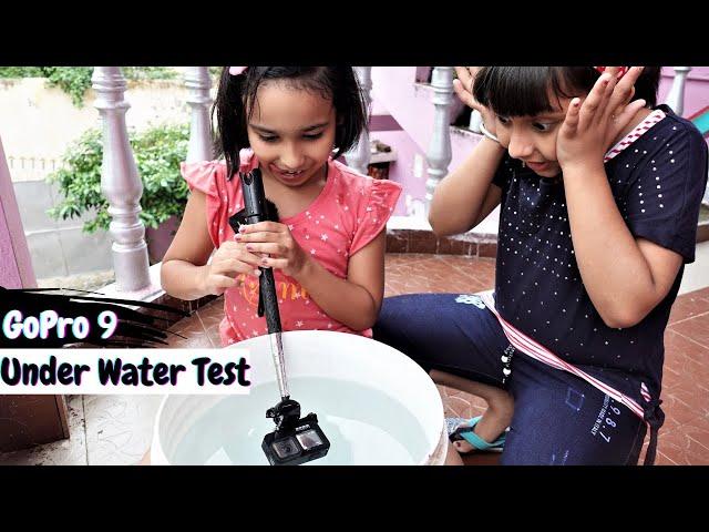 GoPro 9 Under Water Test | #LearnWithPari #learnwithPriyanshi