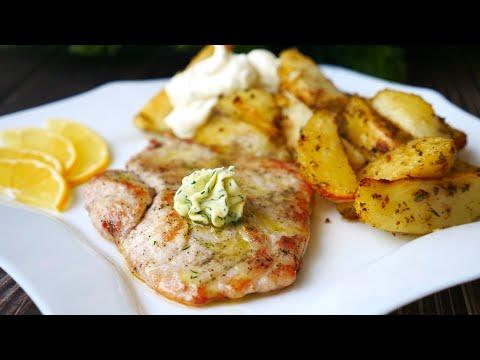 Рецепт очень Вкусной Картошки и Праздничного обеда | Potatoes with Turkey recipe
