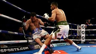 Amir Khan vs Lo Greco Full Fight 15 Seconds Knockout HD 2018