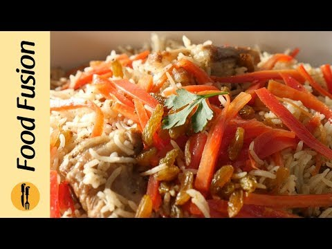 Kabuli Pulao ( Afghani Pulao) Simplified Recipe By Food Recipes