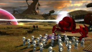LEGO Star Wars III: The Clone Wars - Gameplay Preview: Massive Ground Battles ViDoc | HD