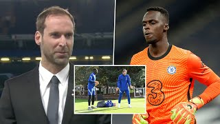 Peter Čech explains the role he played in bringing Edouard Mendy to Chelsea