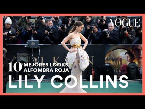 Lily Collins y sus 10 mejores momentos en la alfombra roja