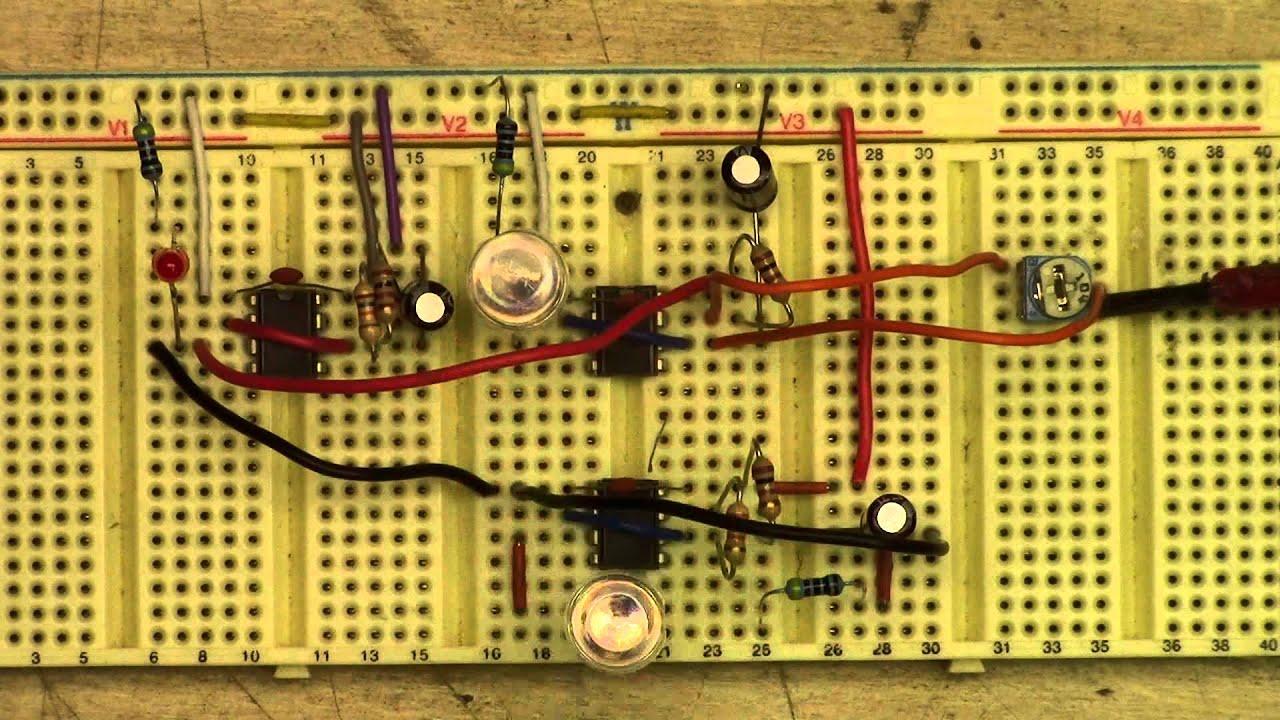 Diy Emergency Vehicle Light Flasher Part 1 Youtube 555 Led Wiring Diagram