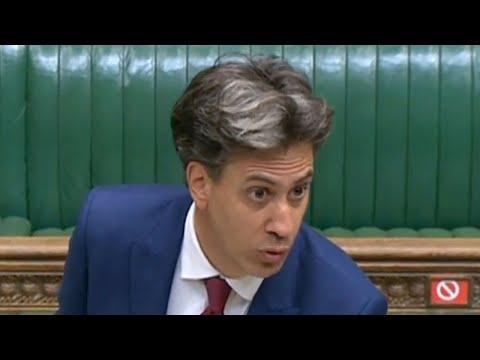 'Incompetence and failure of governance' Ed Miliband slams Boris Johnson's Internal Markets Bill