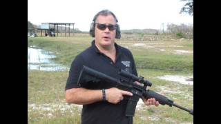 shooting the cmmg 300 blackout ar 15