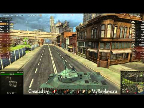 WOT: Port - AMX 50 100 - 9 frags - Patrol Duty,