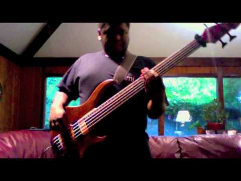 Ribbon in the Sky by Stevie Wonder (bass cover) - Horace Willis