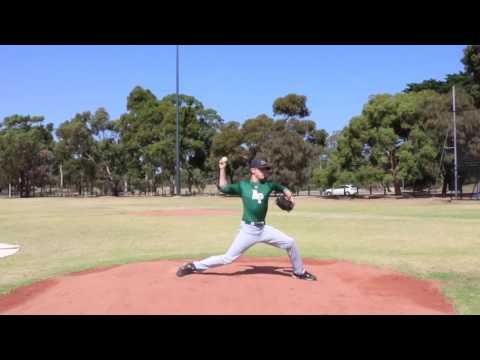 Jackson Boyd Australian Right Handed Pitcher