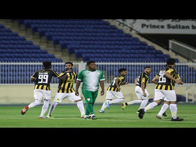 هدف اللاعب (محمد الثاني) التعادل للاتحاد على نجران | مباراة ودية