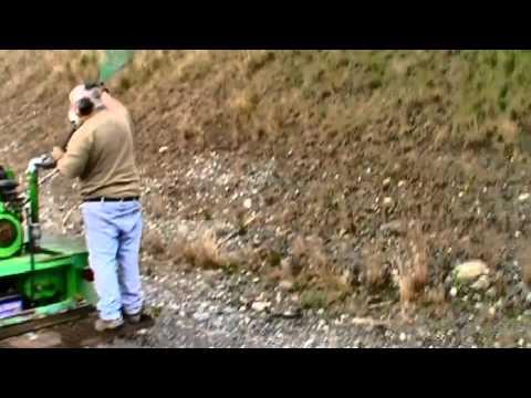 Valley Pathways Hydro mulching