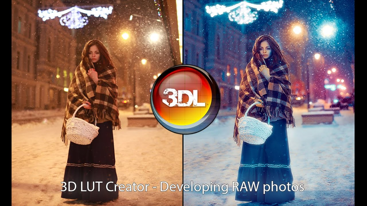 New way of Raw photo developing with 3D LUT Creator - YouTube