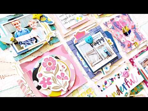 National Scrapbook Day 2018 – Live, Love, Layout Challenge with Paige Evans
