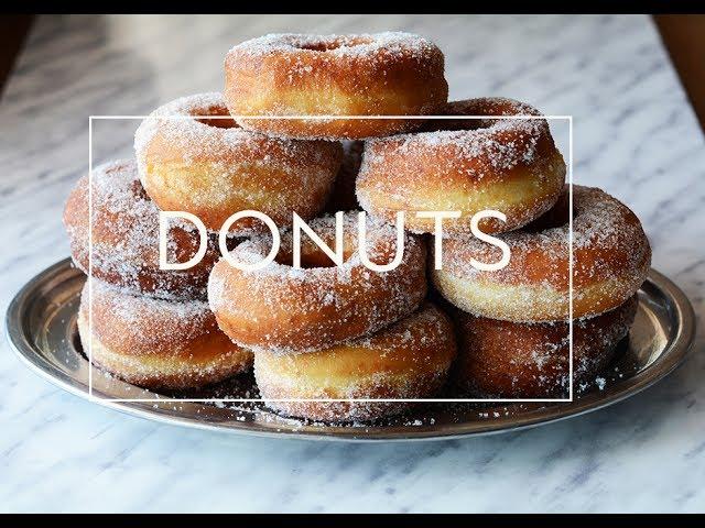 Como Hacer Donuts Caseros Donas De Azúcar Las María Cocinillas Youtube