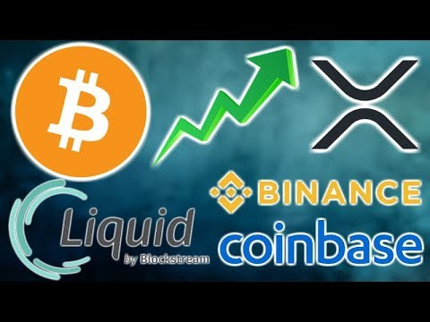 BITCOIN Continues SURGE – Blockstream Liquid BTC – XRP Virtual Currency Japan – Coinbase $1B Custody