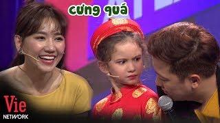 Hari Won và Trường Giang cưng xỉu biểu cảm xinh như thiên thần của cô bé Philippines l AI LÀ SỐ 1