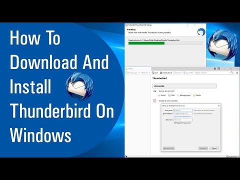 How To Download  And Install Thunderbird On Windows