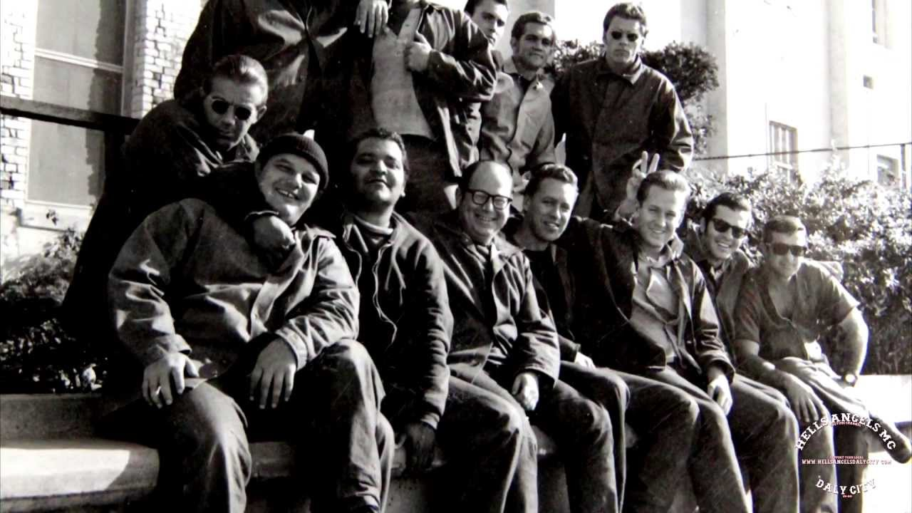 HELLS ANGELS in SAN QUENTIN STATE PRISON   DALY CITY   CIRCA 1969 - 1973