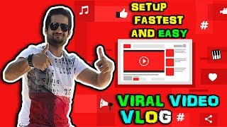 Viral Video Blogging Using WordPress