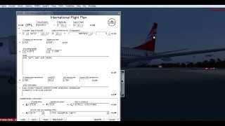 ivao-заполнение flight plan!!! полный урок