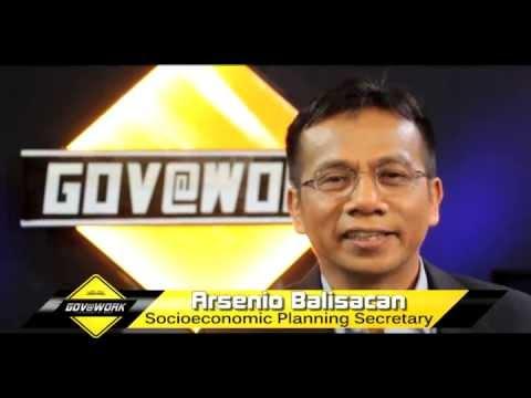 Socioeconomic Planning Secretary Arsenio Balisacan on Gov@Work