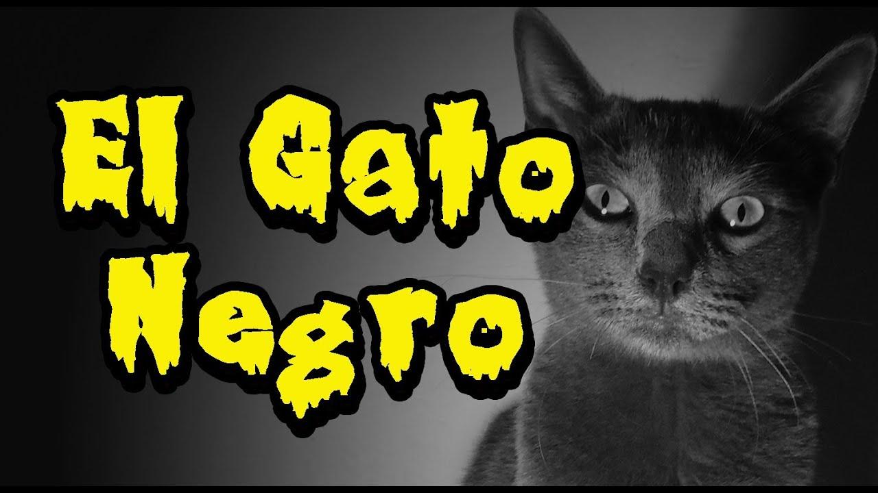 El gato negro de edgar allan poe cortometraje youtube - El gato negro decoracion ...