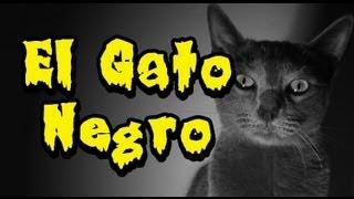 """El Gato Negro de Edgar Allan Poe """"Cortometraje"""""""
