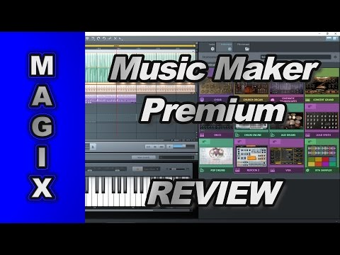 Magix Music Maker Premium REVIEW
