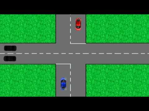 New Zealand road rules. Intersections. Driving code. Learn to ...