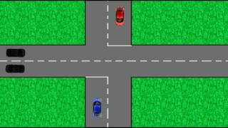 New Zealand Road Rules.  Intersections.  Driving Code. Learn To Drive.  Give Way
