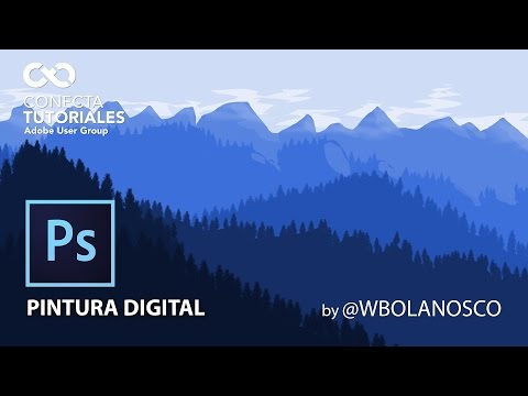 Tutorial Photoshop // Pintura Digital: Paisaje by @WbolanosCo