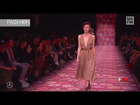 LENA HOSCHEK Highlights Fall 2019 2020 MBFW Berlin - Fashion Channel