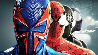 Spider-Man Shattered Dimensions - All Cutscenes - Full Movie