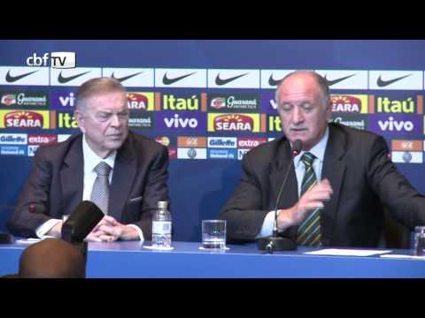 Felipão explica o critério da convocação da Seleção Brasileira