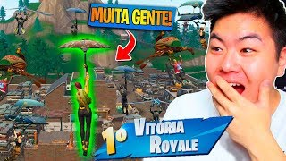 I DIDN'T BELIEVE I KILLED SO MANY PEOPLE IN THIS TOWN! -Fortnite Battle Royale