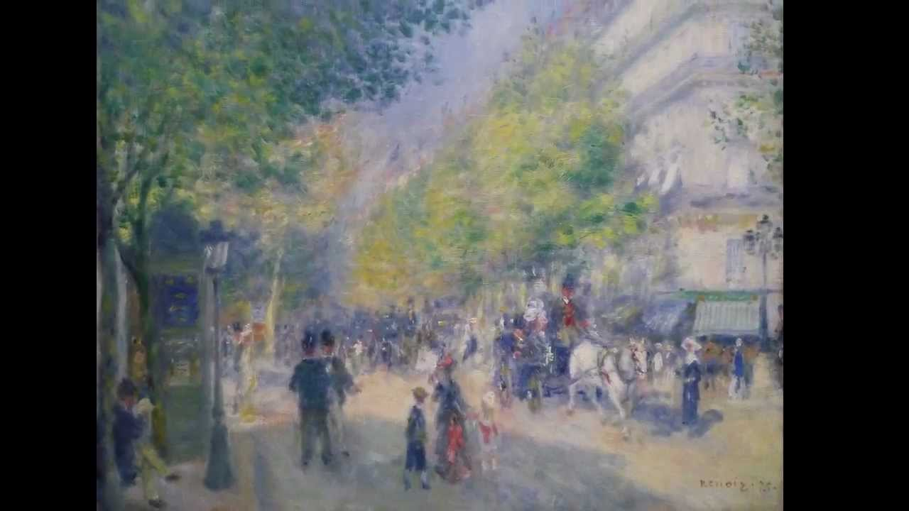 Pierre-Auguste Renoir, The Grands Boulevards, 1875