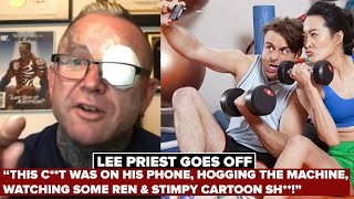 LEE PRIEST DESTROYS GYM CELL PHONE USERS! Iron Rage