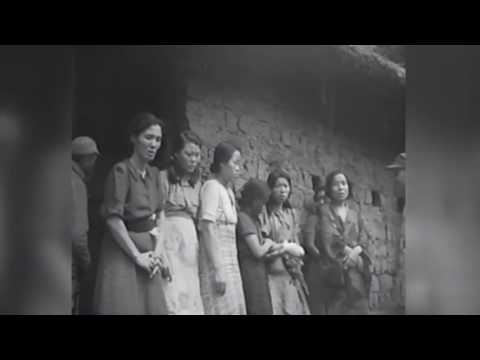 Researchers claim this is the first video showing Korean 'comfort women'
