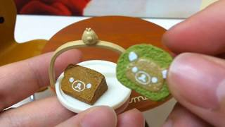 Re-ment Collection: Rilakkuma Cafe Table Chairs & Japanese Cafe