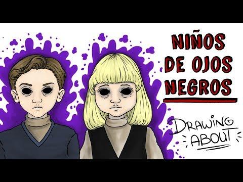NIÑOS DE OJOS NEGROS | Draw My Life