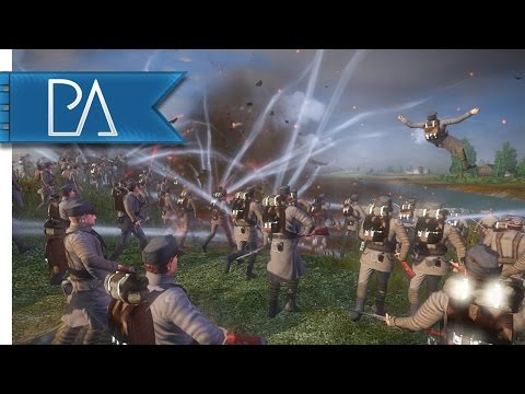 French Must Hold Their Trenches: WW1 German Assault - The Great War Total War Mod Gameplay