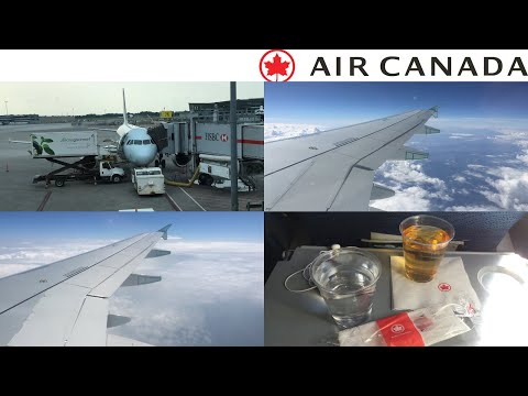 Air Canada ECONOMY Class: Los Angeles To Montreal