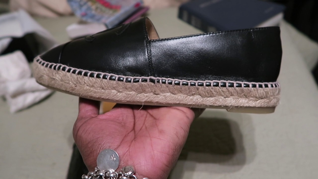 8f33ad5909d CHANEL ESPADRILLES VS GUCCI ESPADRILLES - YouTube